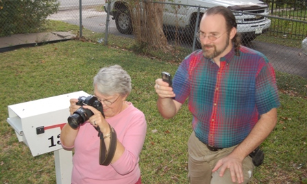 Jean and Chris photoing