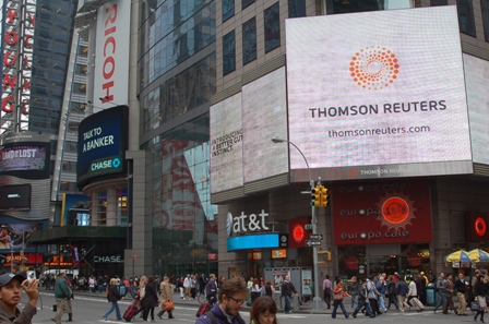 Thomson Reuters Times Square