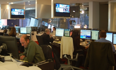 Thomson Reuters newsroom