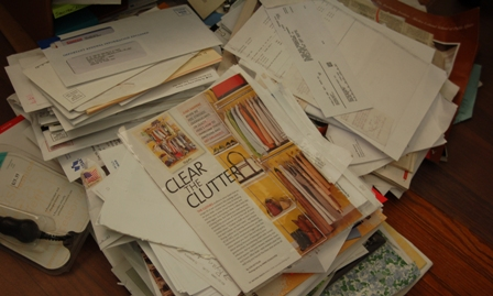 ironic clutter