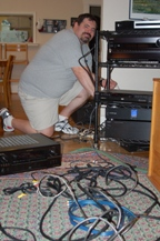 Bill disassembles home theater