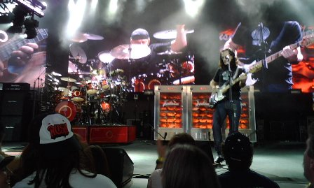 Neil and Geddy