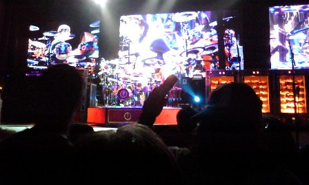 Neil during drum solo