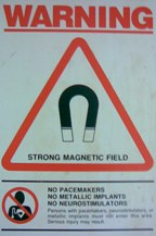 magnet safety warning