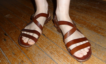 they look like sandals