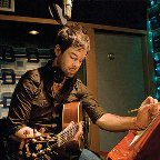 David Cook in studio