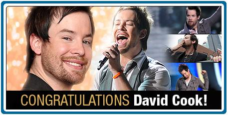 David Cook wins American Idol