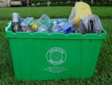 Houston curbside recycling