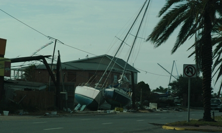 boats parked on 61st street