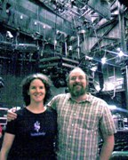 Bob and Chris after the Rush show