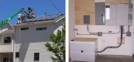 Parra townhouse with solar