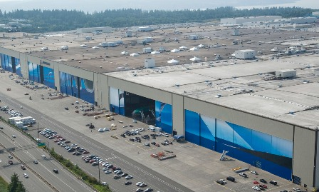 Boeing's Everett factory